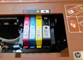 A Carriage Jam Message Displays For Hp Deskjet Ink