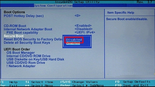 hp g60 boot from usb