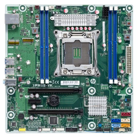 Viking motherboard top view
