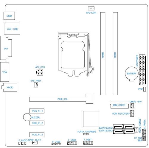 c02832955 hp and compaq desktop pcs motherboard specifications, (carmel
