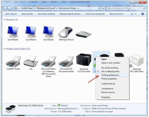 Samsung Laser Printers - No Paper Error in the Manual or