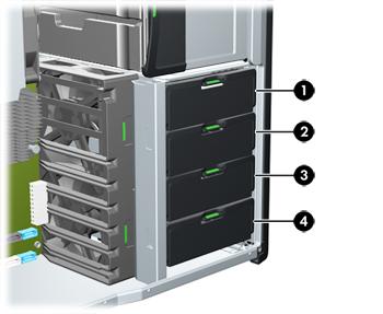 Hp Z Workstation Series Installing Hard Disk Drives Hp