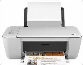 Example of HP Deskjet All-in-One 1510 printer