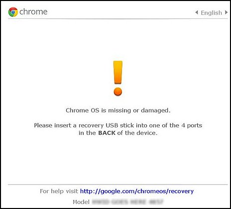 HP Chromebooks - Chromebook Operating System Does Not Load (Chrome
