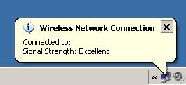 Image of Wireless Connection icon.