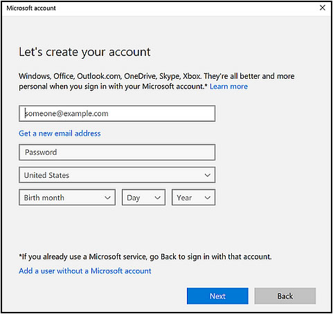 hotmail account erstellen