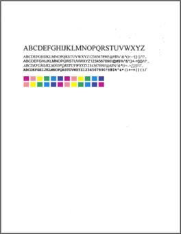 Hp deskjet color test page murderthestout for Hp printer test page color