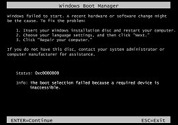 HP PCs - Error Messages Display on a Black Screen during ...