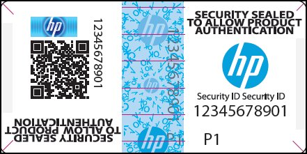 HP Security Label
