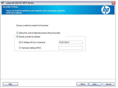 Hp Laserjet M2727 Multifunction Printer Series Installation Procedure And Scan To Email Setup Hp Customer Support