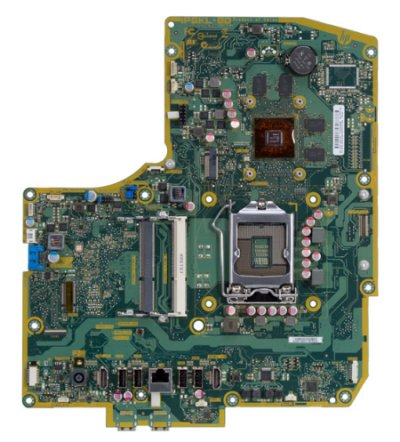 Bulldozer-4GL motherboard top view