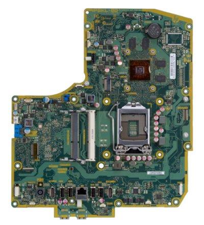 Bulldozer-4GL motherboard top view