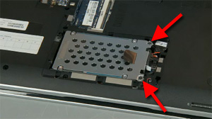 Removing And Replacing The Hard Disk Drive For Hp Pavilion