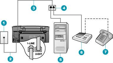 how to setup a fax machine
