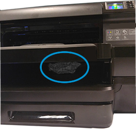 HP Officejet Pro 8100 ePrinter - 'Paper Jam or Tray Problem