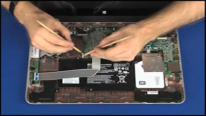 Removing and Replacing the Fan for HP ENVY 15-u000 x360 Convertible