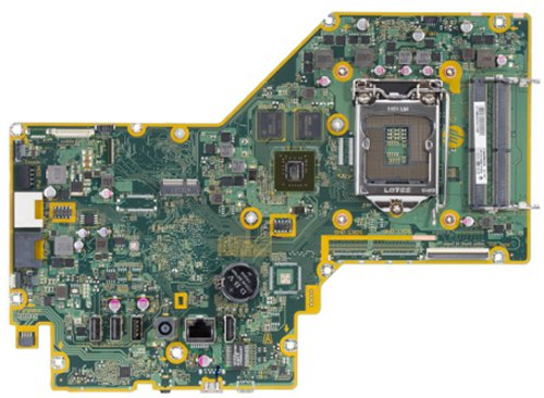 Saipan-4GF motherboard top view