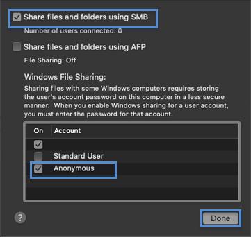 HP Enterprise MFP, HP Managed MFP - Set up a Shared Folder