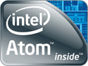 Image of Intel Atom logo