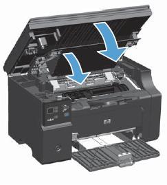 激光打印机卡纸_HP LaserJet Pro M1136 激光一体机 - 清除卡纸   HP®客户支持