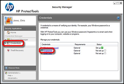 Security Manager setup