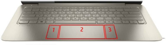 HP Notebook PCs - Using the HP Control Zone Touchpad (Windows 8