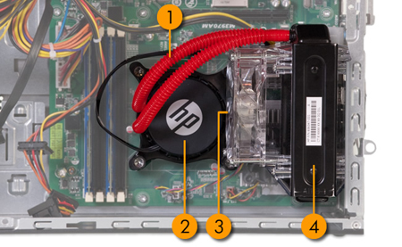 Image of Liquid Cooling System