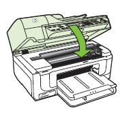 how to clear paper jam on hp officejet 4500