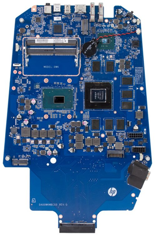 Argos-G7 motherboard top view
