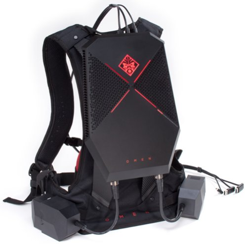 OMEN X chassis with backpack accessory kit