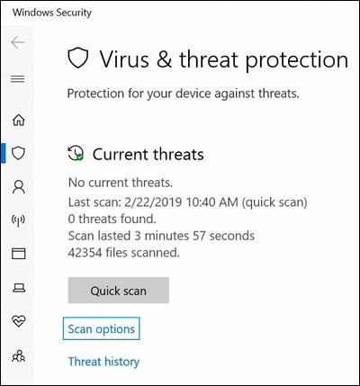 HP PCs - Computer Might Be Infected by a Virus or Malware (Windows