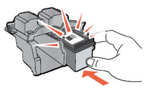 Image: Insert the cartridge into its slot