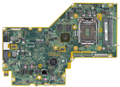 Saipan-2GF motherboard top view