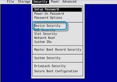 HP Z230 Workstation - Enable Internal Speaker in the BIOS