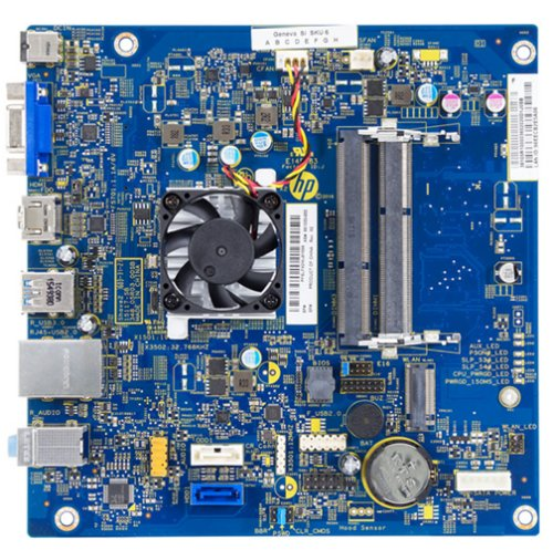 Geneva-P motherboard top view