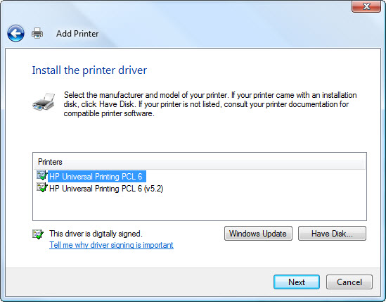 hp universal print driver download free