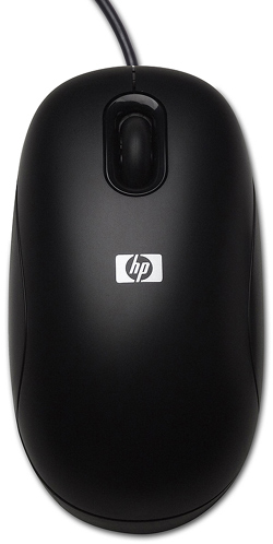 Mouse óptico PS/2 HP