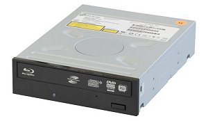 Image of the optical drive