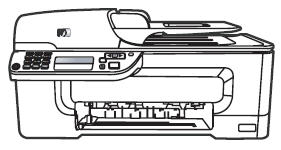 Image: HP Officejet 4500 All-in-One printer.