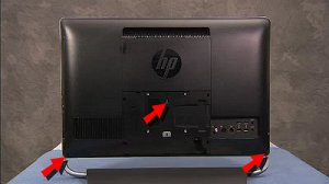 Removing And Replacing The Rear Cover In Hp Envy 23 D000