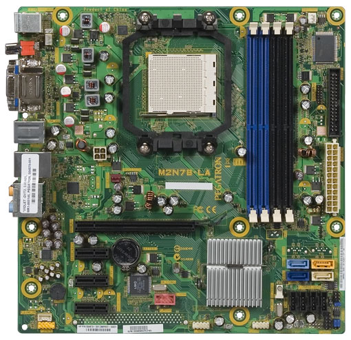 hp and compaq desktop pcs - motherboard specifications, m2n78-la (violet)