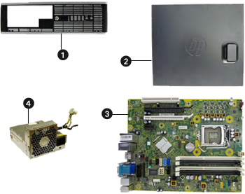 Hp Compaq Elite 8300 Desktop Pc Series Spare Parts Hp Customer Support