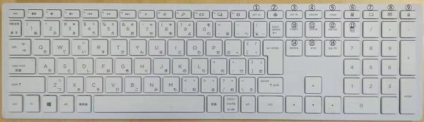 デスクトップキーボード