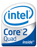 Image of Intel 2 Quad logo