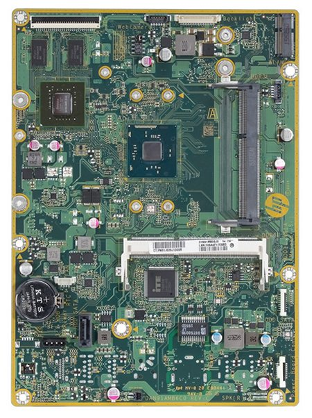 Molokai-2G motherboard top view