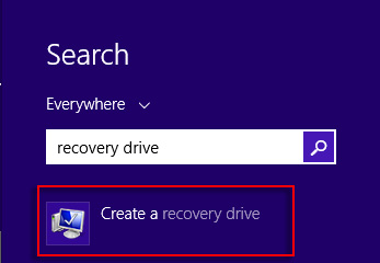 Search results for recovery drive
