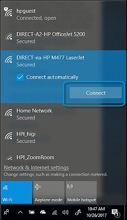 Selecting a wireless network