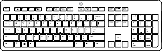 United States keyboard