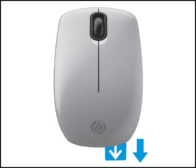 c162b40e5a2 HP Z3200 Natural Silver Wireless Mouse - Setting up the HP Z3200 ...