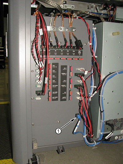 Image: E-cabinet and cable